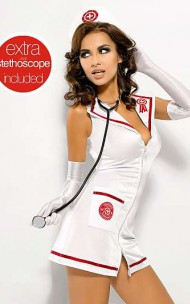 Obsessive - Sexy costume Emergency dress / Nurse + stethoscope